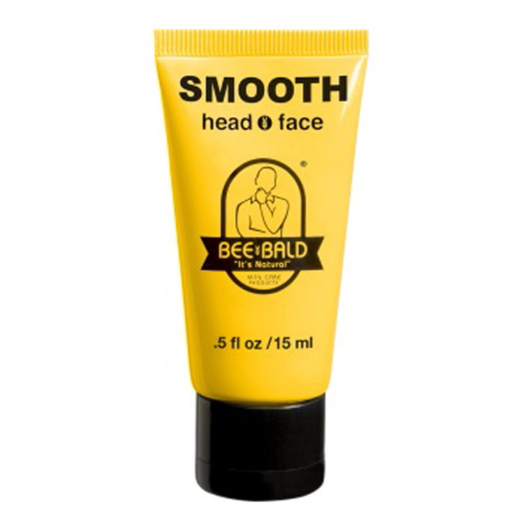 BEE BALD SMOOTH TRAVEL SIZE - .5 oz. Tube