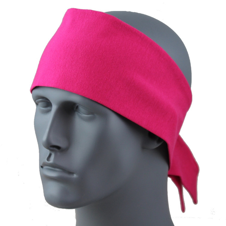 "Magenta 3.5 in. headband 3.5"" Headband By DesignWraps"