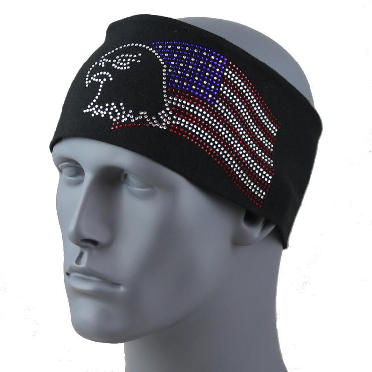 "American Eagle 3.5 in. headband 3.5"" Headband By DesignWraps"