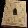 25 Meter Zeroing Target 8 1/2 in x 11 in (100 Pack)