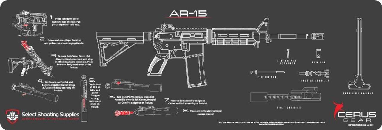 AR-15 INSTRUCTIONAL PROMAT