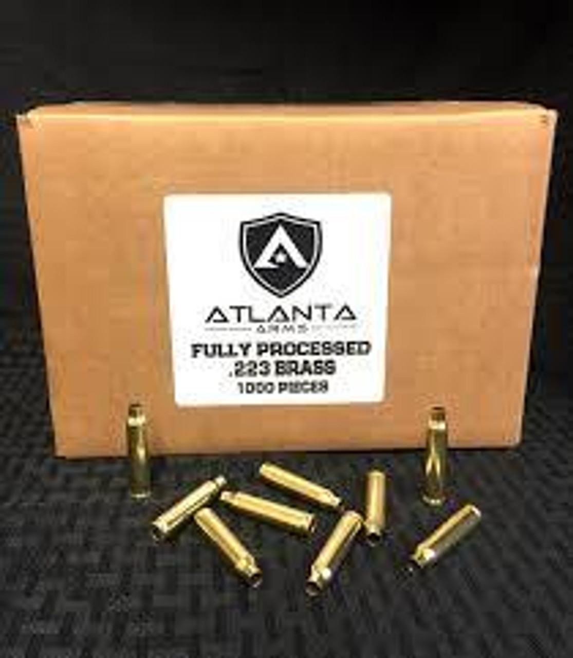 Atlanta Arms - .223/5.56 FULLY PROCESSED BRASS - 1000 PIECES
