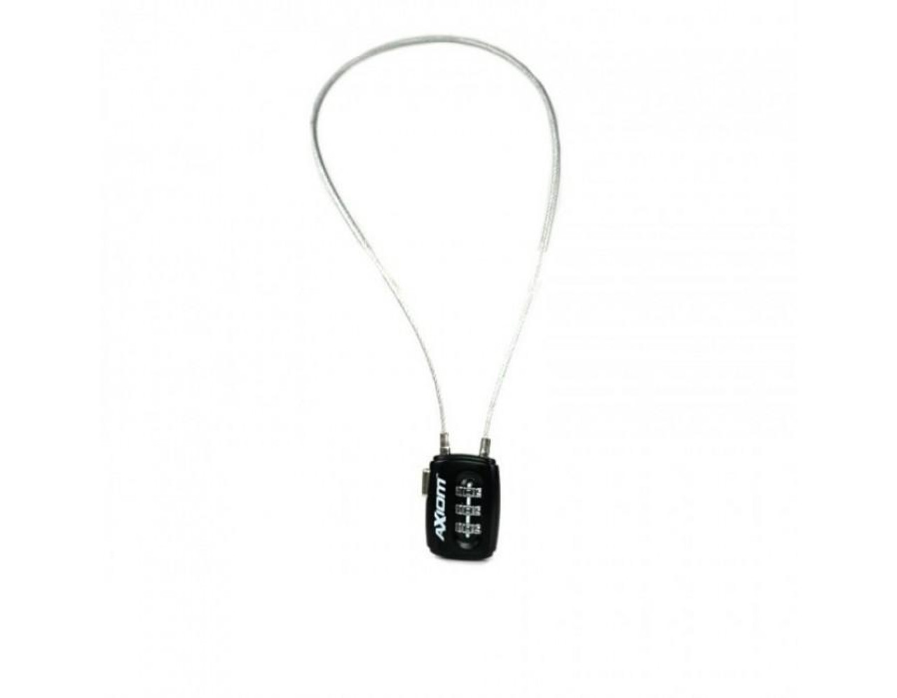 Axiom Combination Cable Lock - 300mm Long Cable