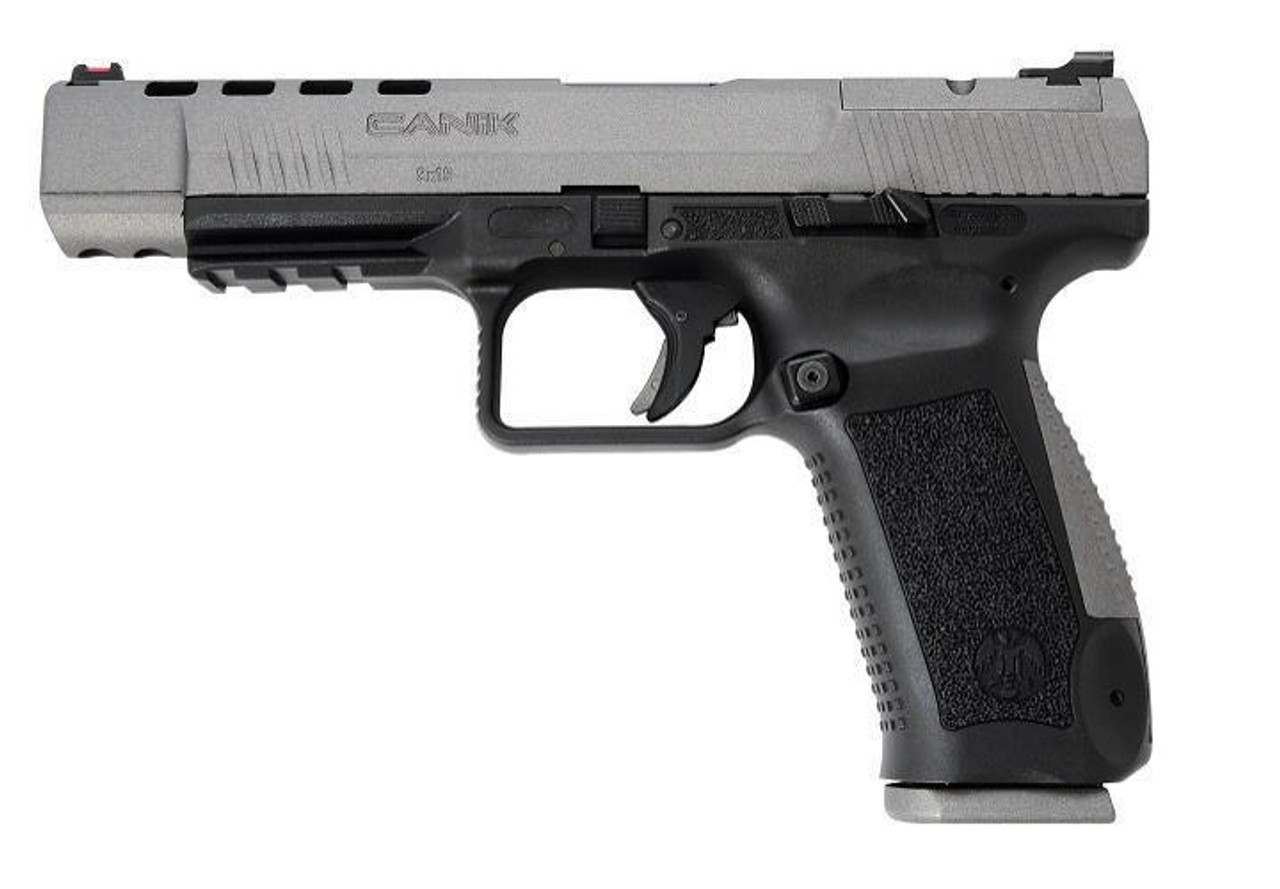 "Canik TP9SFX Competition Ready Semi-Auto Pistol, 9mm, 5.25"" Barrel, 10 Rounds, Polymer Frame"