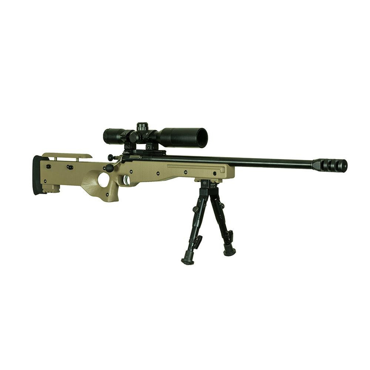 Crickett Precision Rifle 22LR with Scope & Bipod