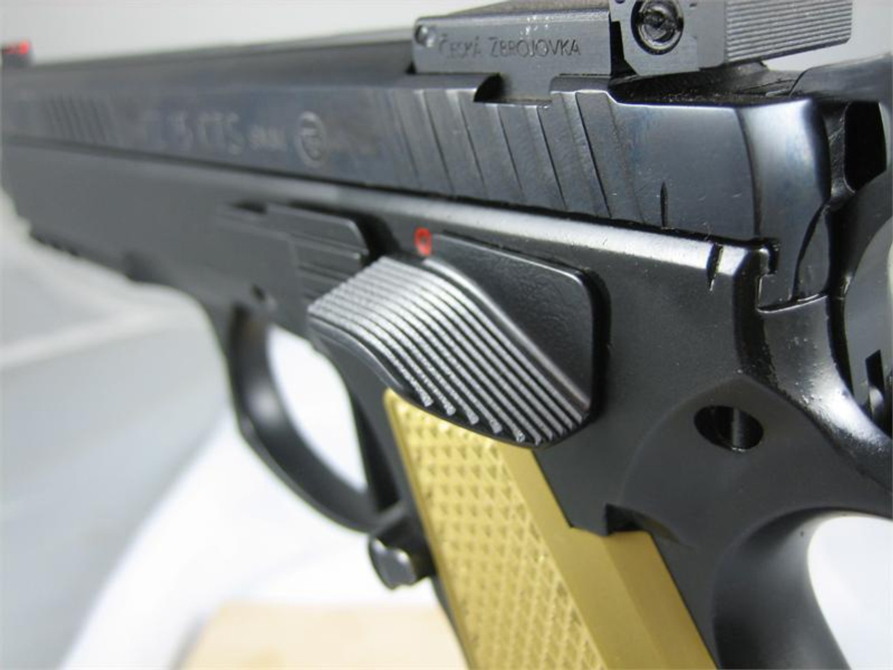 CZ 75 Extended Ambi Safety