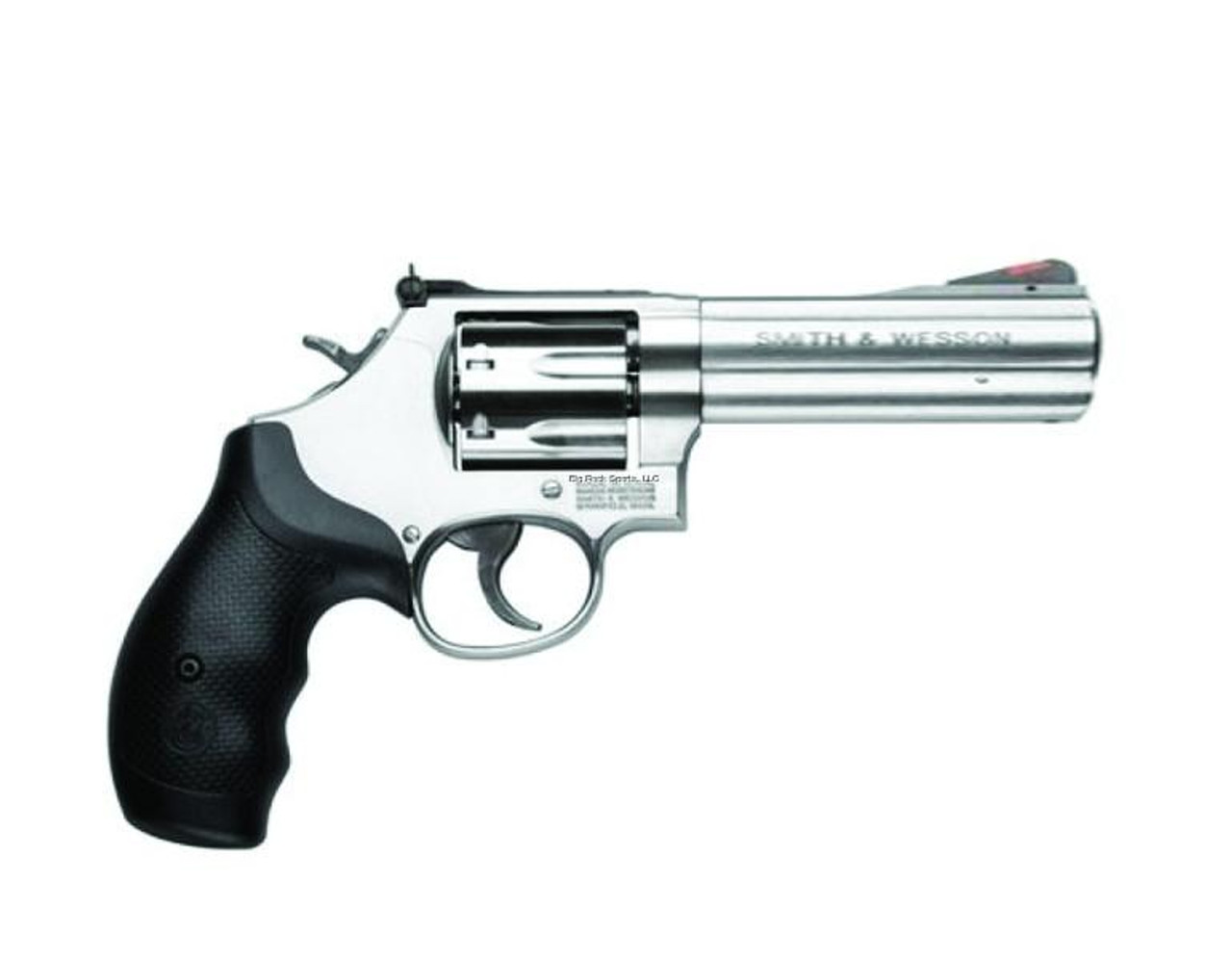 """Smith & Wesson 686 Revolver .357 Mag Stainless Steel 6 rds 4.25"""""""