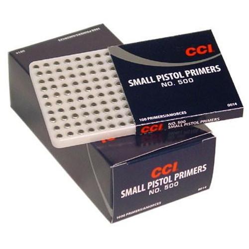 CCI #500 Small Pistol Primers