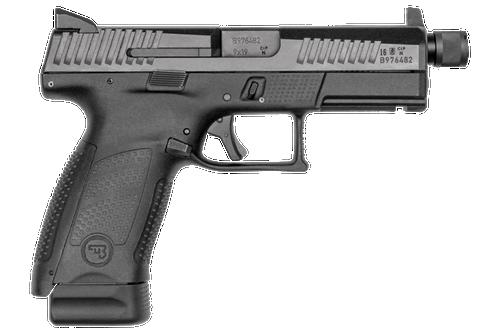 "CZ P-10 C Semi-Auto Pistol, 9mm Luger, 4.6"" Threaded Barrel, Striker Fired"
