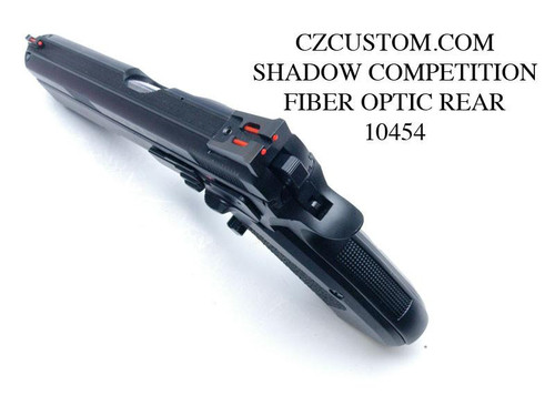 CZ Shadow Competition Rear Sight FIBER OPTIC