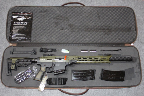 "Derya Arms MK12, Canadian Edition, OD & Black - 12GA, 3"", 20"" Barrel"