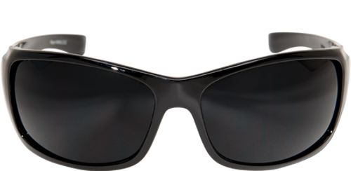 Edge Mayon Women's Ballistic Safety Glasses with Black Frame and Smoke Lens
