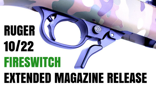 Fireswitch Extended Magazine Release for Ruger® 10/22 by Rim/Edge
