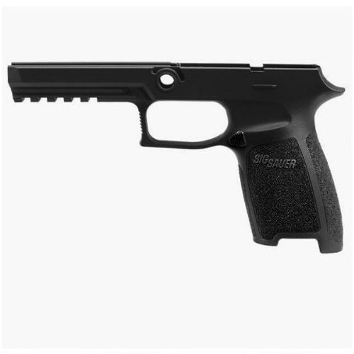 SIG Sauer P320/P250 Full Sized Grip Module 9mm/.40/.357 OEM Frame Small Grip Polymer Black