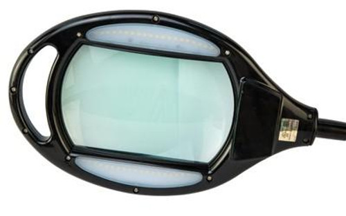 Wheeler Master Gunsmithing Benchtop Magnifier With 400 Lumen 40 LED Lights And Carry Case