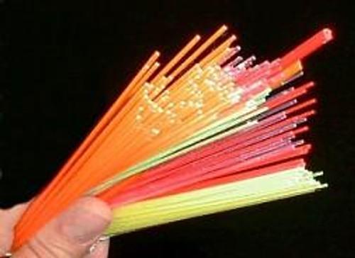 "Fiber Optic Rod 1.5mm 6"""