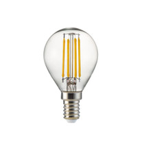 4W LED Lamp/Light Bulb Warm White 2700k NUPI FILLED 4W E14-WW