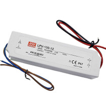 MEAN WELL LPV-100-12 12V 100W Waterproof IP67 LED Driver Transformer Power Supply