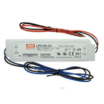 MEAN WELL LPV-60-24 24V 60W Waterproof IP67 LED Driver Transformer Power Supply