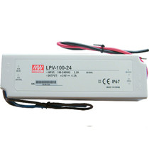 MEAN WELL LPV-100-24 24V 100W Waterproof IP67 LED Driver Transformer Power Supply