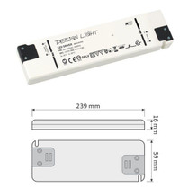 Flat 12V DC 40W LED Strip Slim Driver Transformer Power Supply For LED Lights