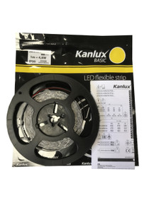 5 Metres Kanlux Basic 12V LED 2835 Strip Lights Warm White IP00