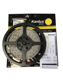 5 Metres Kanlux Basic 12V LED 2835 Strip Lights Cool White IP54