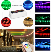 10 Metres SMD 5050 RGB IP54 LED Strip Light + WiFi Controller Transformer Kit