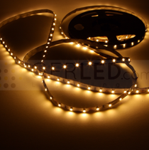 24V 3528 Warm White 300 LED Premium Flexible Strip Tape Light IP65 LED