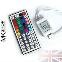 5 Metres 5050 IP65 RGB Multicolour SMD 12V LED Strip Lights Adapter