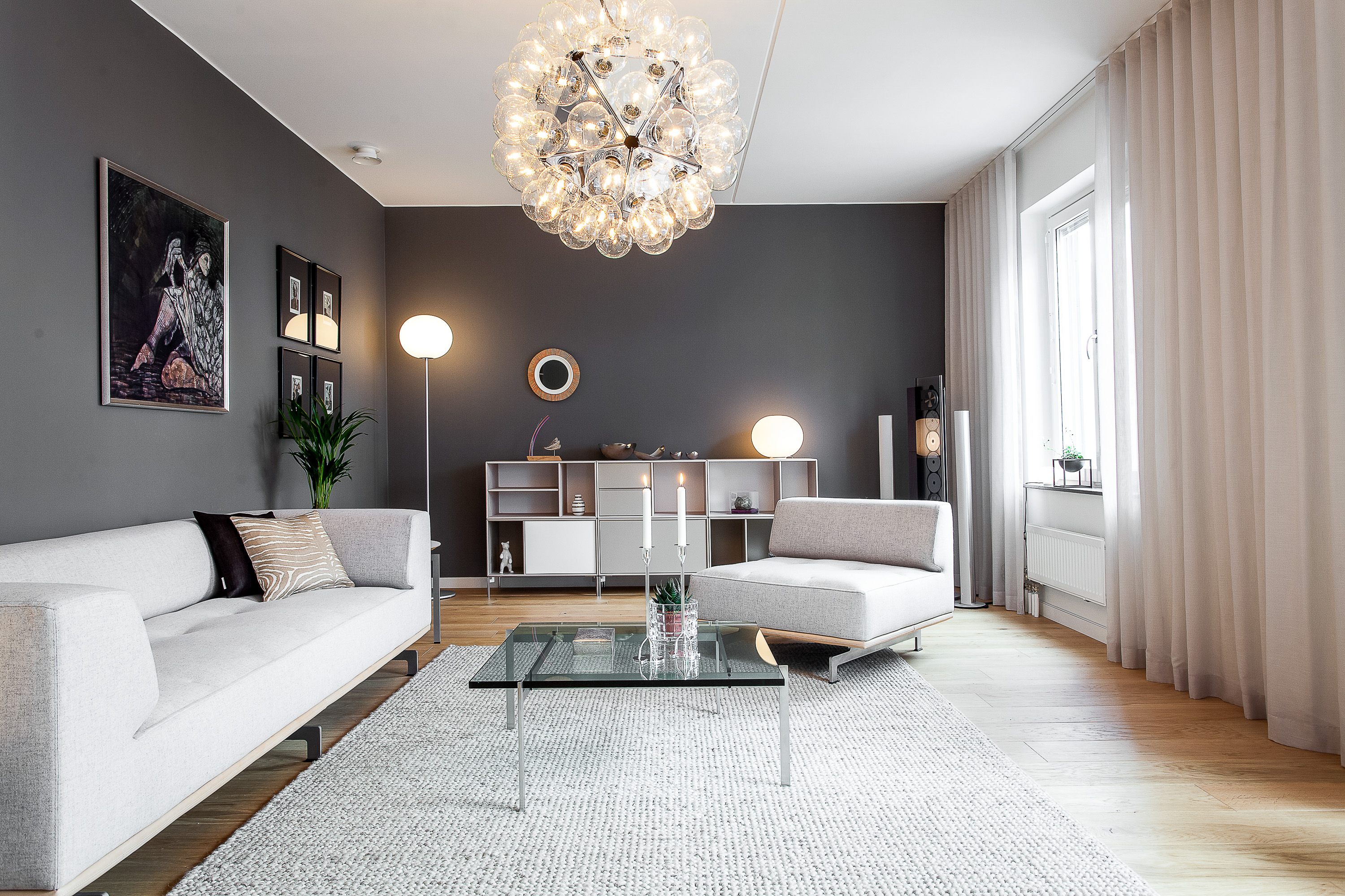 Contemporary Living Room Lighting Inspirations | FLOS USA