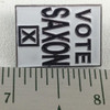 Vote Saxon Pin