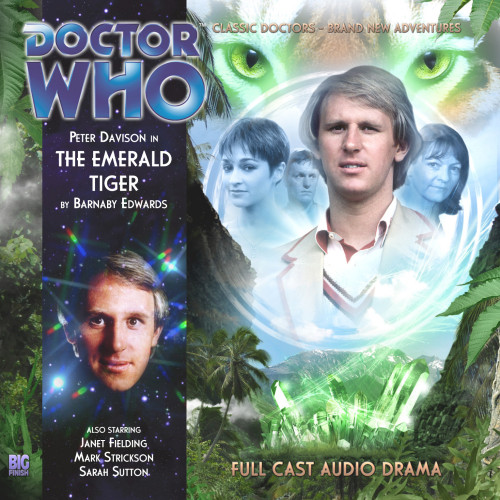 The Emerald Tiger - Big Finish Audio CD #159