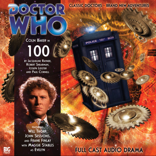 100 - Big Finish 6th Doctor Audio CD #100