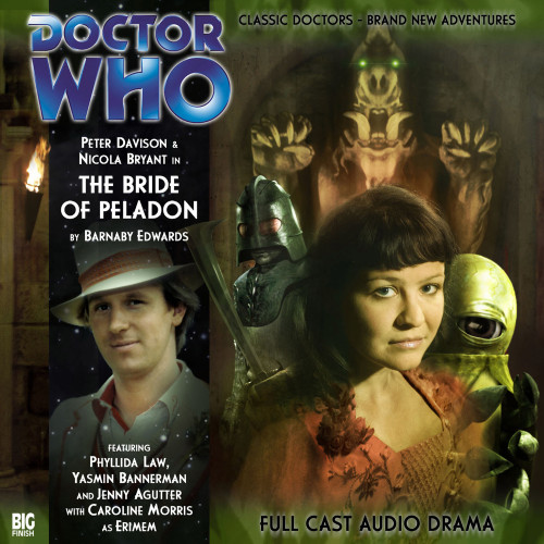 The Bride of Peladon Audio CD - Big Finish #104