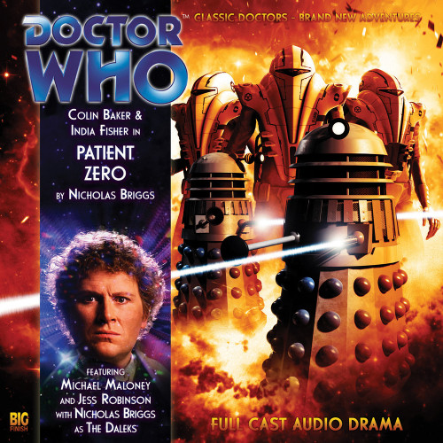 Patient Zero - Big Finish Audio CD #124