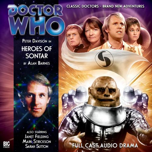 Heroes of Sontar - Big Finish Audio CD #146