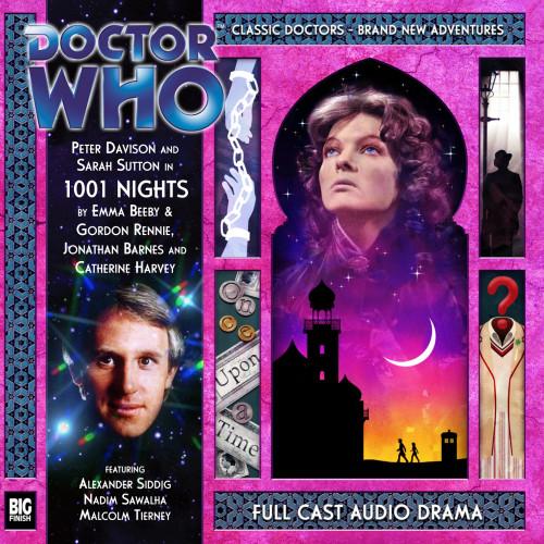 1001 Nights - Big Finish 5th Doctor Audio CD #168