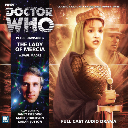 The Lady of Mercia - Big Finish 5th Doctor Audio CD #173
