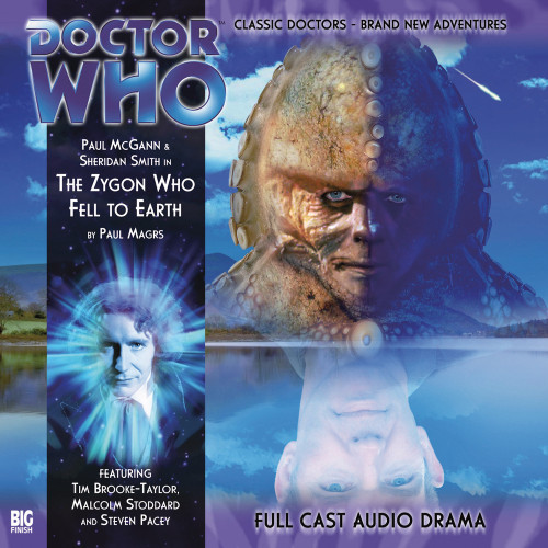 The Eighth Doctor Adventures 2.6 - The Zygon Who Fell to Earth Big Finish Audio CD