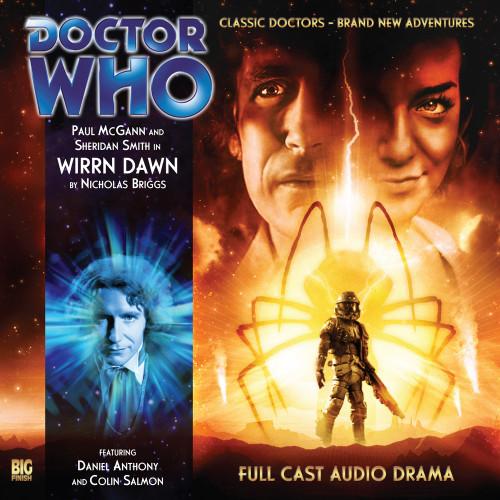 The Eighth Doctor Adventures 3.4 - Wirrn Dawn Big Finish Audio CD