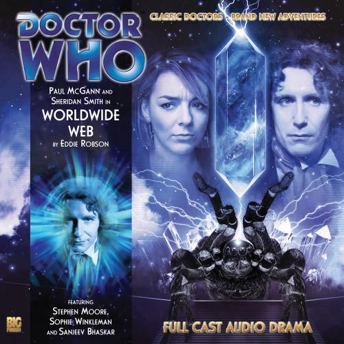 The Eighth Doctor Adventures 3.8 - Worldwide Web Big Finish Audio CD