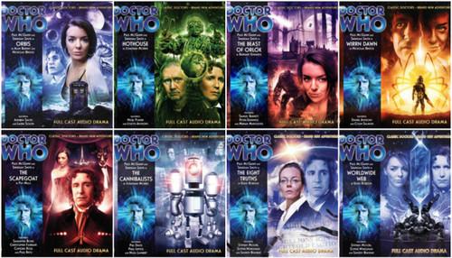 Complete set of 8 Eighth Doctor Adventures Big Finish Audio CDs - Season 3