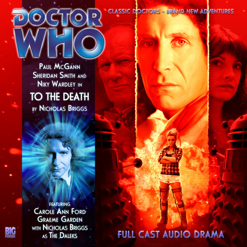 The Eighth Doctor Adventures 4.10 - To the Death Big Finish Audio CD