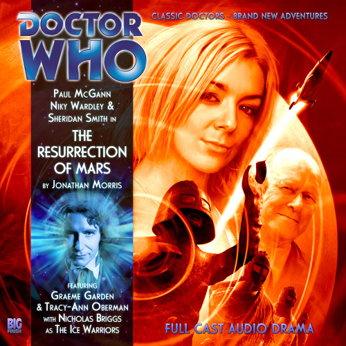 The Eighth Doctor Adventures 4.6 - The Resurrection of Mars Big Finish Audio CD