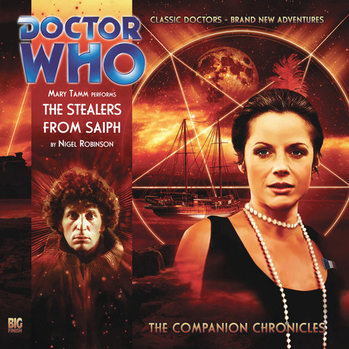 Companion Chronicles - The Stealers from Saiph - Big Finish Audio CD 3.12