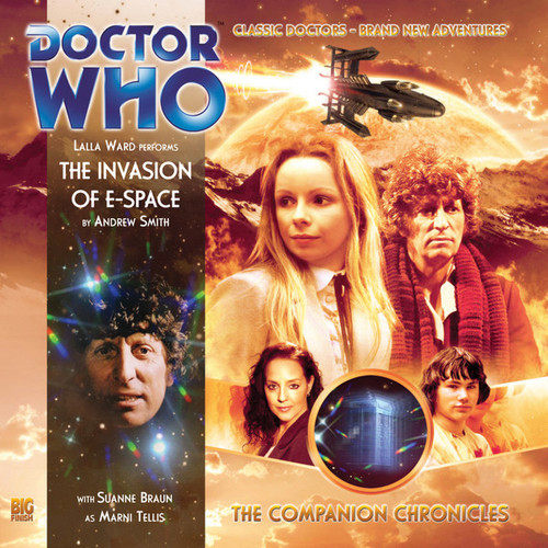 Companion Chronicles - The Invasion of E-Space - Big Finish Audio CD 5.4