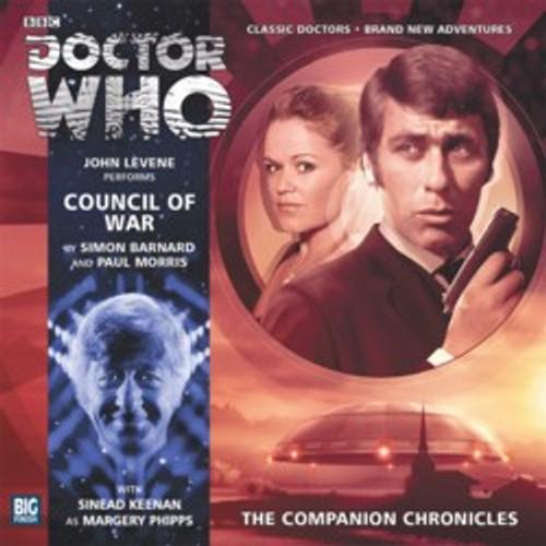 Companion Chronicles - Council of War - Big Finish Audio CD 7.12