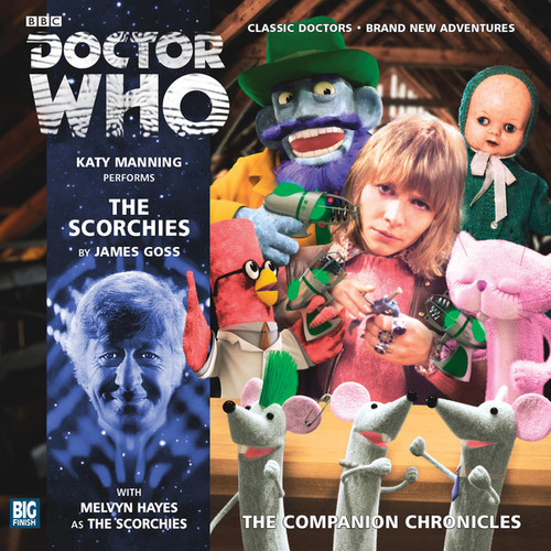 Companion Chronicles - The Scorchies - Big Finish Audio CD 7.9