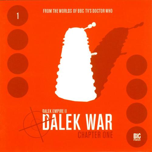 Dalek Empire 2: The Dalek War - Chapter 1 - Big Finish Audio CD